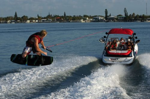 2012 Sea Doo 230 WAKE Boat   Action 2