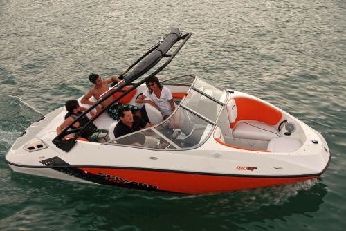 2012 Sea Doo 180 SP Boat   Action 3