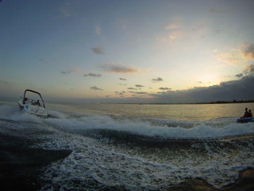 2012 Sea Doo 180 SP Boat   Action 4