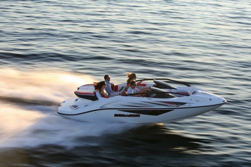 2012 Sea Doo 200 Speedster Boat   Action (2)