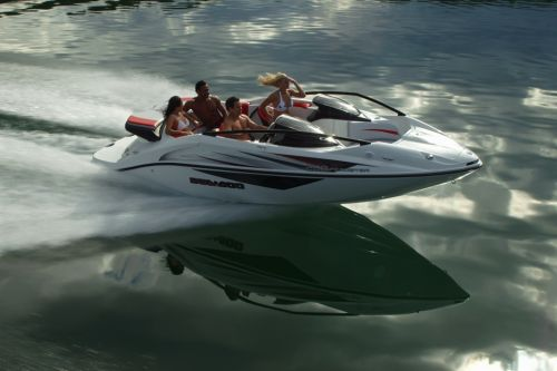 2012 Sea Doo 200 Speedster Boat   Action