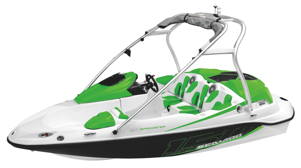 2012 Sea Doo 150 Speedster   Studio   front3 4 Grn