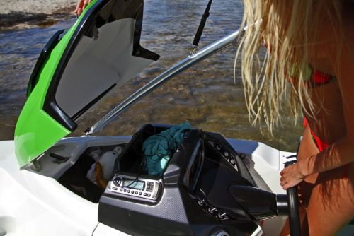 2012 Sea Doo 150 Speedster Boat   Details helm storage