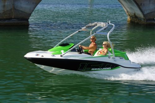 2012 Sea Doo 150 Speedster Boat   Action 6