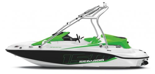 2012 Sea Doo 150 Speedster   Studio   Profile Grn Shd
