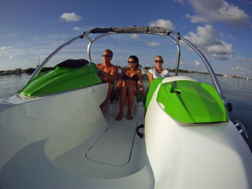 2012 Sea Doo 150 Speedster Boat   Action 2