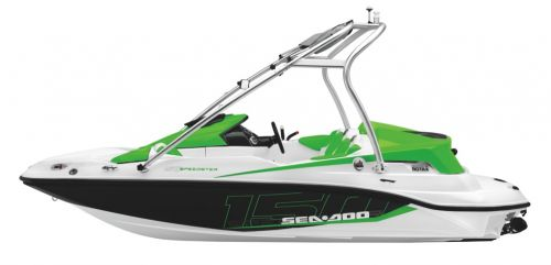 2012 Sea Doo 150 Speedster   Studio   Profile Grn