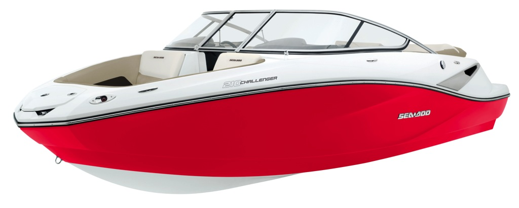2012 Sea Doo 210 Challenger   Details 3 4 Red