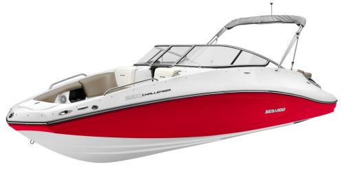 2012 Sea Doo 230 Challenger SE   Details 3 4 Red