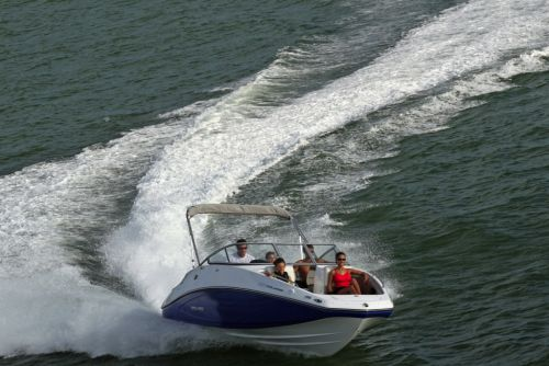 2012 Sea Doo 230 Challenger Boat   Action (4)