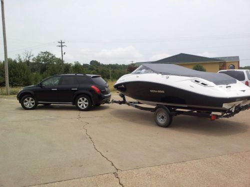 Towing the Boat from Arkansas to Atlanta