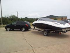 Towing the Boat from Arkansas to Atlanta